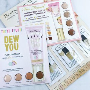 Too Faced Foundation Sample Bundle